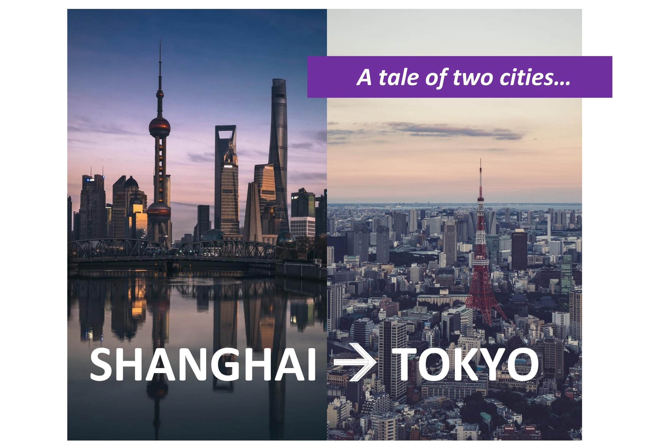 Observations by CEO Ali Mirza – A tale of two cities: Shanghai to Tokyo
