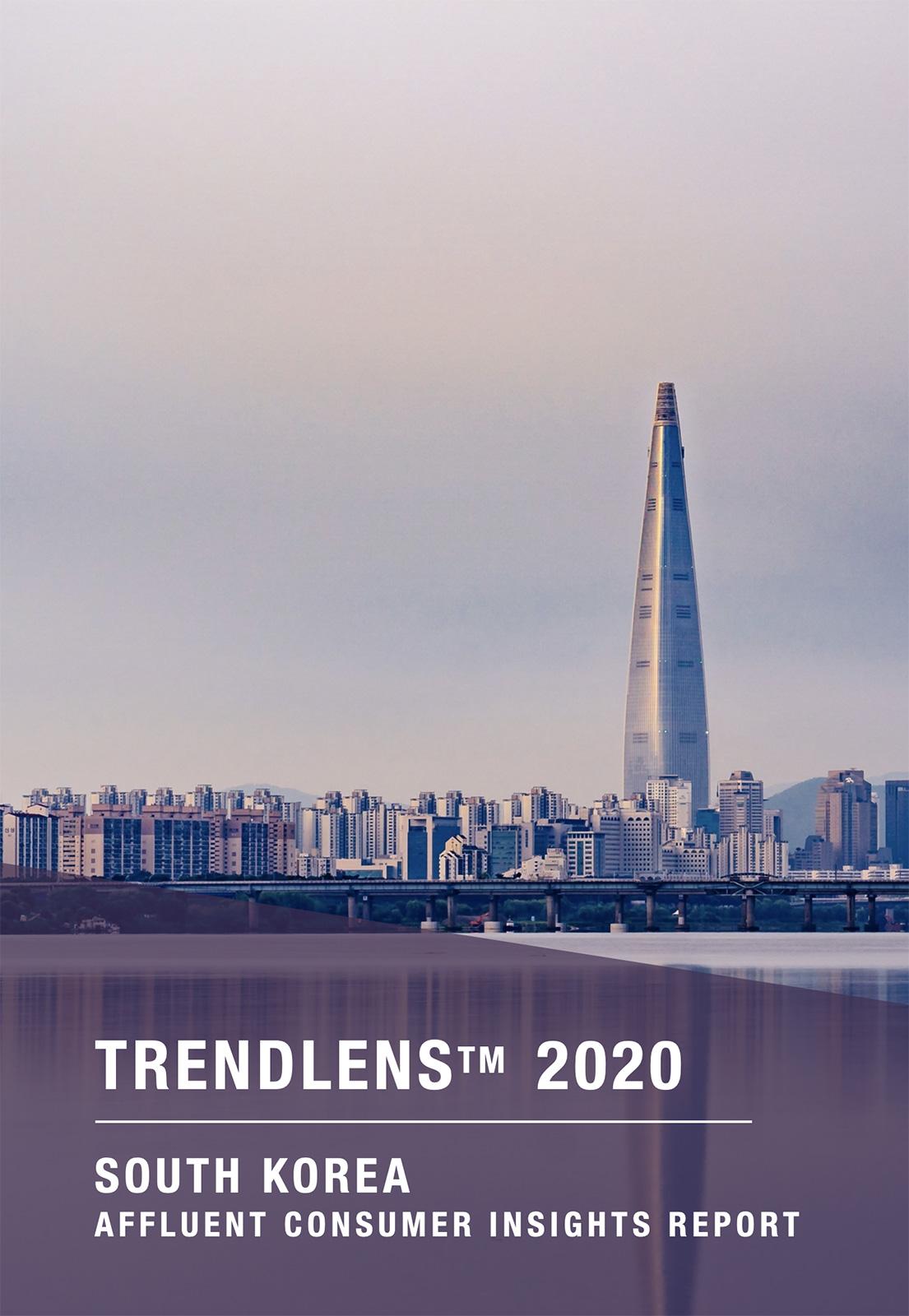 TrendLens™ 2020 South Korea  Affluent Consumer Insights Report
